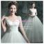 wm5049 พร้อมส่ง ชุดแต่งงาน คอวี ชุดถ่ายพรีเวดดิ้งสุดหรู สวยสุดอลังแบบดารา thumbnail 1