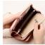 กระเป๋าสตางค์ผู้หญิง Difenise No.8 (หนังแท้) สีชมพู thumbnail 10