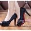 X-004 ขายรองเท้าเจ้าสาว รองเท้าแต่งงาน สวยหรู ดูดีราคาถูกกว่าเช่า สีดำ thumbnail 2