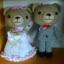 คู่หมีแต่งงาน 10 นิ้ว thumbnail 1