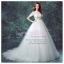 wm5093 ขาย ชุดแต่งงานแขนสั้น ซีทรู กระโปรงลากยาว แบบเจ้าหญิง สวยที่สุดในโลก ราคาถูกกว่าเช่า สำเนา thumbnail 1