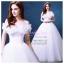 wm5094 ขาย ชุดแต่งงานเจ้าหญิง แบบเปิดไหล่ สวย น่ารัก ที่สุดในโลก ราคาถูกกว่าเช่า thumbnail 1