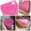 Makeup Revolution Blushing Hearts Triple Baked Blusher # โทนพีช thumbnail 2