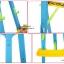 ชุดกระดานแม่เหล็ก+กระดานดำ Learning Easel 3in1 thumbnail 17