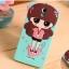 เคสมือถือ Oppo Mirror3- Girl Silicone Case#2[Pre-Order] thumbnail 4