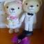 คู่หมีแต่งงาน 10 นิ้ว thumbnail 2