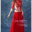 JJ-004 พร้อมส่ง ชุดกี่เพ้าสวยๆ หรู สีแดง ราคาถูกกว่าเช่า ชุดยกน้ำชา thumbnail 2