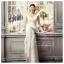WM40012 ขาย ชุดแต่งงานราคาถูก คอวี ชุดถ่ายพรีเวดดิ้ง แบบ ดารา สวยที่สุดในโลก thumbnail 1
