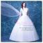 wm5089 ขาย ชุดแต่งงานแขนสั้น คัตติ้งรูปหัวใจ สไบลากยาว สวย เก๋ ดูดีแบบเจ้าหญิง ราคาถูกกว่าเช่า thumbnail 1