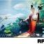 ภาพวาดแนวจริยศิลป์ล้านนา พิมพ์ลงผ้าใบ รหัสสินค้า RP - 10 thumbnail 1