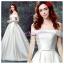 wm5102 ขาย ชุดแต่งงาน เจ้าหญิงปาดไหล่ ใส่ถ่ายพรีเวดดิ้ง สวยหรู ดูดีที่สุดในโลก ราคาถูกกว่าเช่า thumbnail 1
