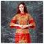 K-0024 พร้อมส่ง ชุดกี่เพ้าสวยๆ หรู สีแดง ราคาถูกกว่าเช่า ชุดยกน้ำชา thumbnail 2