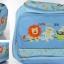 กระเป๋าสัมภาระสีฟ้า ลายสิงโต ลิง จระเข้ thumbnail 13