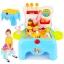 ชุดเก้าอี้ไอศกรีมพกพา Super Market Play Set 39 ชิ้น