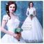 wm5080 ขาย ชุดแต่งงานเจ้าหญิง เปิดไหล่ สวย หวาน หรู น่ารัก ที่สุดในโลก ราคาถูกกว่าเช่า thumbnail 1