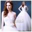 wm5081 ขาย ชุดแต่งงานเจ้าหญิง เกาะอก สวย หวาน หรู น่ารัก ที่สุดในโลก ราคาถูกกว่าเช่า thumbnail 1