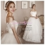 WB40008 ขาย ชุดแต่งงาน ราคาถูก แบบโชว์ไหล่ สวยหรู แบบ ชุดแต่งงานดารา thumbnail 1