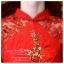 K-0020 พร้อมส่ง ชุดกี่เพ้าสวยๆ หรู สีแดง ราคาถูกกว่าเช่า ชุดยกน้ำชา thumbnail 4