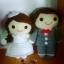 ตุ๊กตาคู่แต่งงาน ชายหญิง 6 นิ้ว thumbnail 1